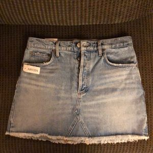 Never worn denim skirt